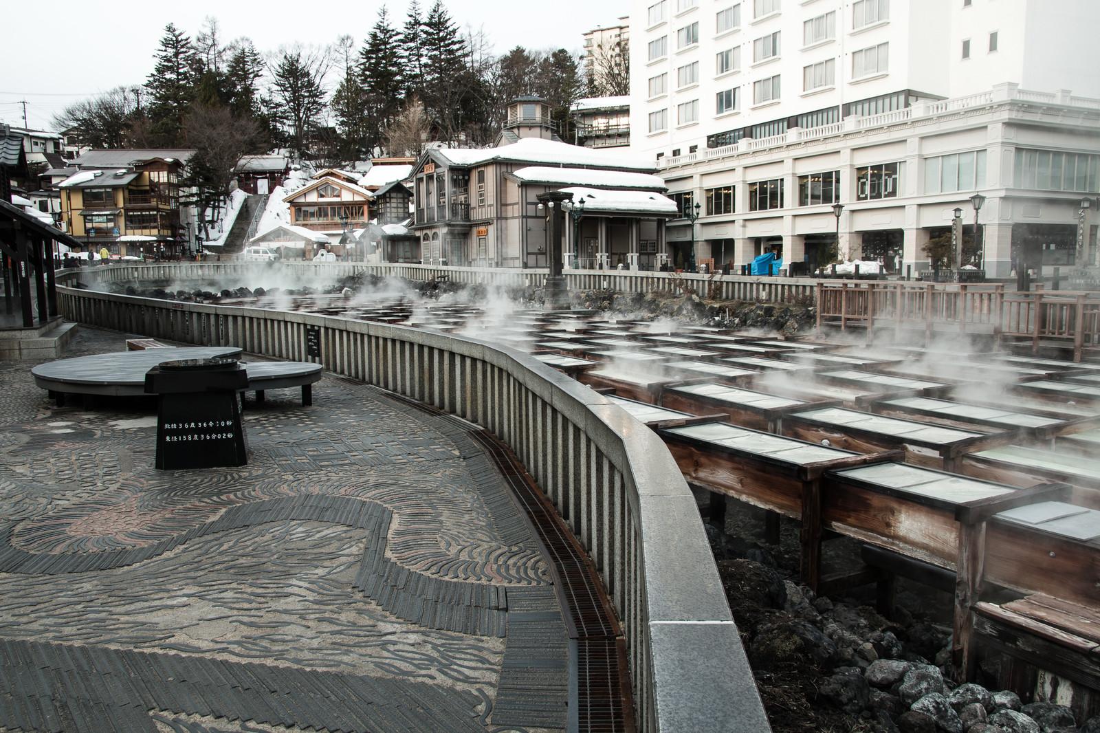 <週末旅><br />自然湧出量日本一を誇る豊富な湯量 草津温泉・1泊2日の旅
